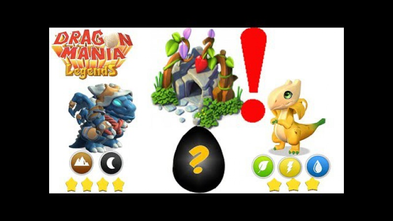 Epic Egg Hatching! - Rogue_Dragon Banana_Dragon - Gameplay - Dragon Mania Legends -part 645
