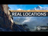 Importing Real World Locations Into Unreal Engine 4 - Beginners Tutorial UE4
