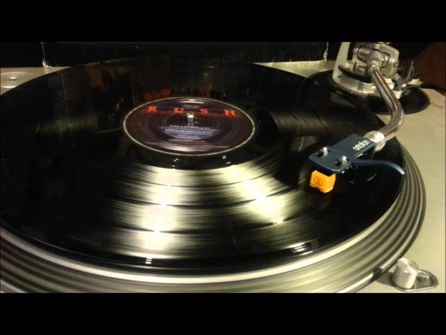 Rush Red Barchetta from Moving Pictures on Vinyl (RL Masterdisk)
