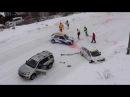 Авария на 3м этапе Чемпионата России по трековым гонкам. 23.02.2017