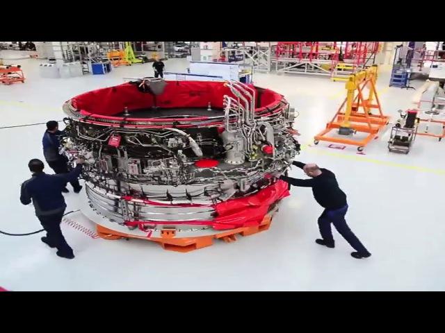 Как Rolls-Royce собирает двигатели для самолетов
