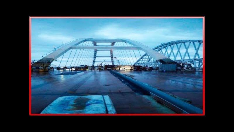Крымский мост. Строительство сегодня 21.01.2018. Керченский мост.