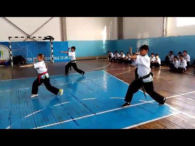 тренировка сборной узбекистана по Uzbek Jang San'ati-3