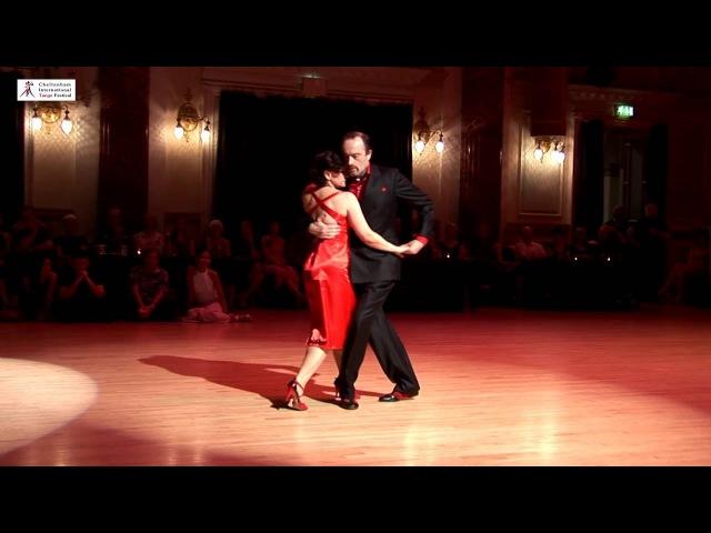 2016 Jolanta and Adrian dance canyengue to La Cumparsita at Cheltenham International Tango Festival