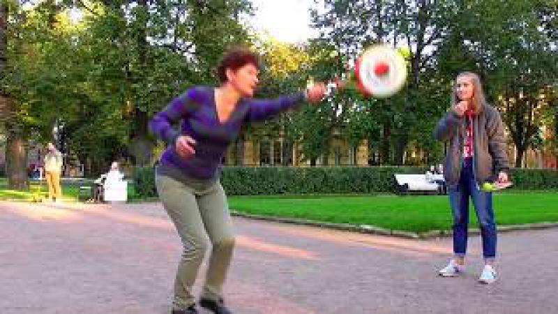 Ролибол в Санкт-Петербурге. Мастер-класс по ролиболу.