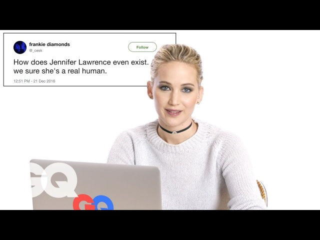 Jennifer Lawrence Goes Undercover on Reddit, Instagram, and Twitter | Actually Me | GQ