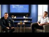 Роберт и Джейми Белл на ток-шоу Actors on Actors