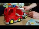 Лего Дупло Пожарная машина. Видео для детей. Обзор. Lego Duplo Town Fire Truck 10592