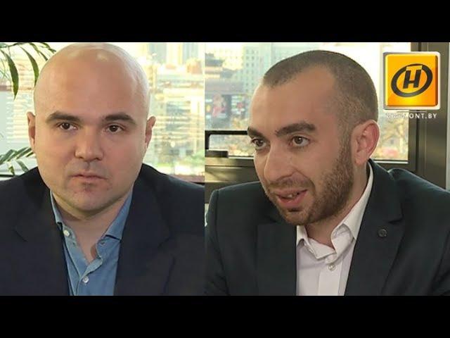 Виктор Прокопеня и Йонатан Брендер рассказали Контурам о развитии цифровой экономики в Беларуси