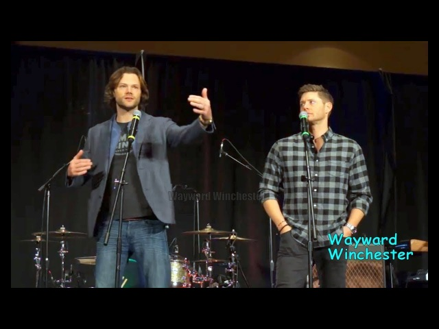 Jensen Jared 'First Scene With Danneel Was So Weird' On Working With Danneel Ackles SPNLVCON 2018
