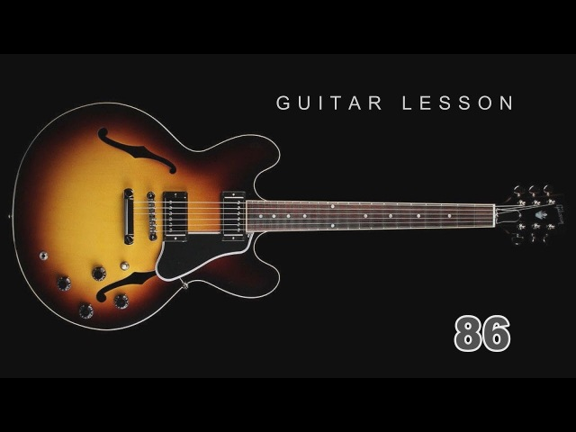 Guitar Lesson - 86 Fingerstyle Три поросёнка Three little pigs Gitarrenunterricht ギターのレッスン 吉他课