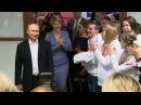 ЦИК сообщает обеспрецедентно большом количестве голосов отданных закандидата впрезиденты Владимира Путина
