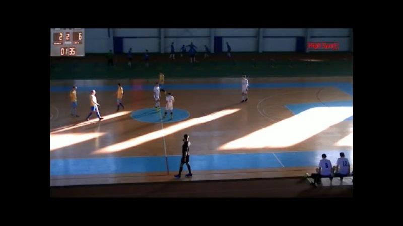 Футзал Вища ліга АФС Sagacitas КомпСервис СумДУ 2 HighSportLive HSL