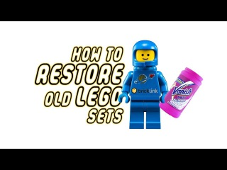 HOW TO RESTORE OLD LEGO SETS!