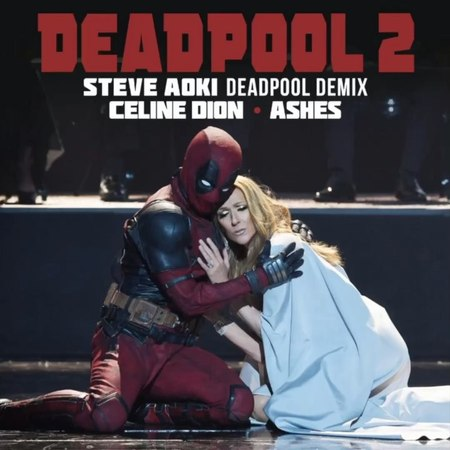 """Steve Aoki on Instagram: """"Remixed the legendary @celinedion for the @deadpoolmovie 2 soundtrack @vancityreynolds Hit the link in my bio to 👂🏼 a..."""