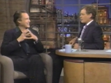 Letterman asks Christopher Walken if he's nuts (1995)