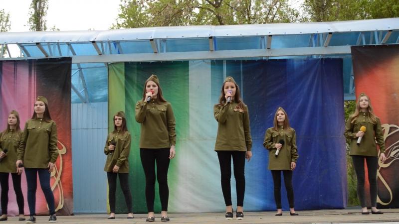 3й день идёт осада Сталинграда Обр эстрадная группа Частный Визит рук О Костенко