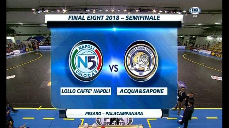 Napoli 2-3 AcquaSapone d.c.r (Coppa Italia - Futsal) - Ampia Sintesi 24032018