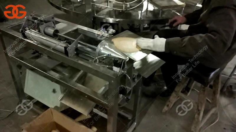 хрустящая машина для производства конусов мороженого с высоким качеством