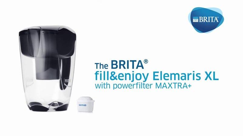 Key Features: BRITA fillenjoy Elemaris XL Jug with MAXTRA Filter