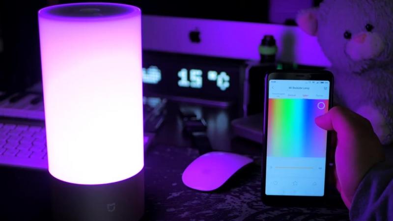 РасПаковка ДваПаковка XIAOMI Умная Лампа YeeLight Обновленная версия Wi Fi