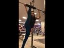 Оля -гимнастка