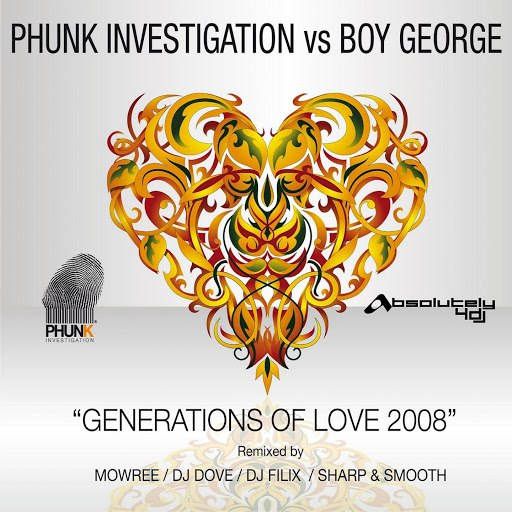Phunk Investigation альбом Generations Of Love 2008