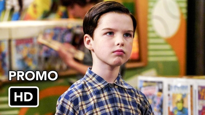 Young Sheldon 1x18 Promo A Mother, a Child, and a Blue Man's Backside (HD)
