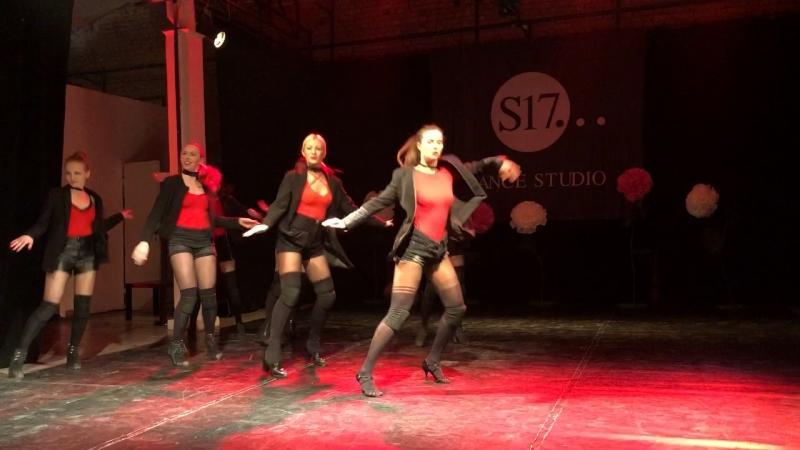 Отчетный концертS17High heels danceJuliana Sadovskaya