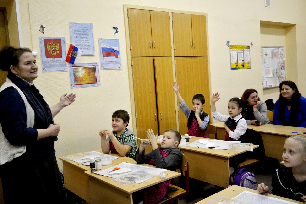 мастер-класс ко Дню матери для школьников