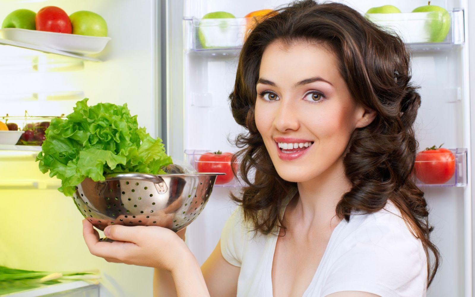 Польза от зеленого салата