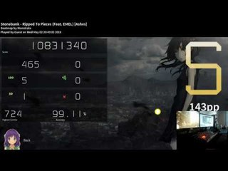 Stonebank - Ripped To Pieces (Feat. EMEL) (Ashes) /// FC 143pp