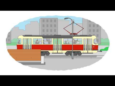 Zeichentrick-Malbuch - U-Bahn, Straßenbahn, Zug