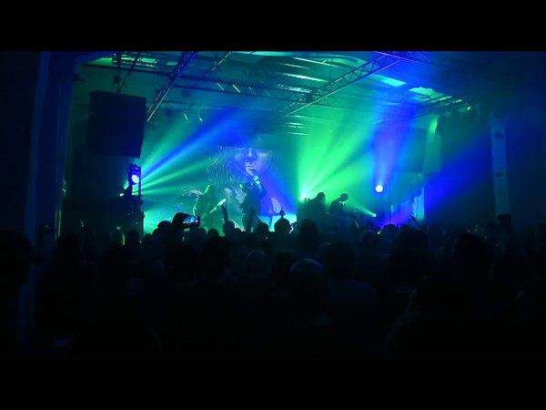 Dark Tranquillity Live @ SKC Fabrika Novi Sad 18 04 2018 Rok Pokret Video