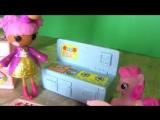 Видео для девочек. Куклы Лалалупси и кукольный домик