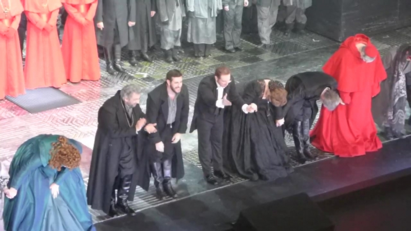 Placido Domingo Co in Verdi's Don Carlo at the Palau de les Arts in Valencia 15.12.17.