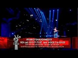 Ryan O'Shaughnessy - Baby - Live Show 1,Team Brian