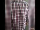 Рубашка в клетку хаки Монтана Хлопок 2