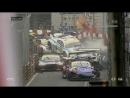 Массовая авария на гонке FIA GT в Макао