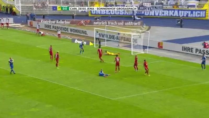 Highlights FC Carl Zeiss Jena vs. SG Sonnenhof Großaspach