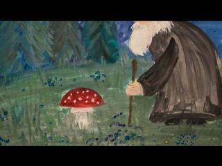 Про грибы, косулю и монаха