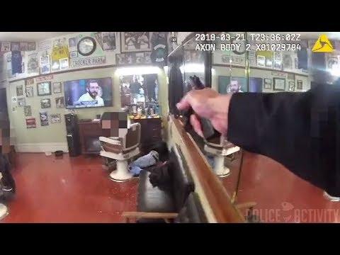 San Francisco Police Bodycam Video Of Fatal Barbershop Shootout