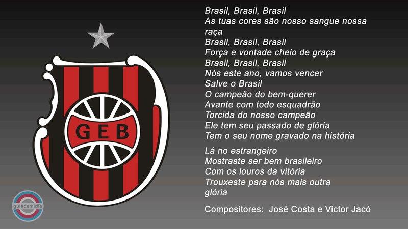 Hino do Brasil de Pelotas RS