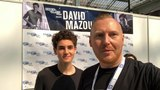Paul Edwards on Instagram A great hi from @realdavidmazouz from @heroesfanfest #hvff for DC World and for supporting #gotham #brucewayne