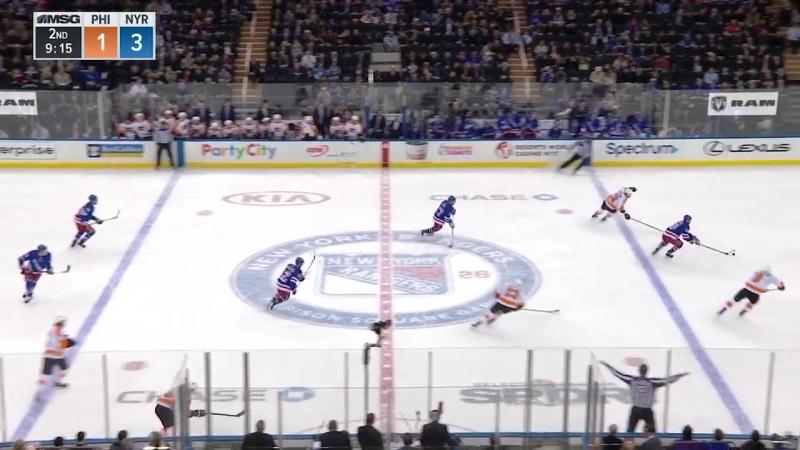 Philadelphia Flyers vs New York Rangers – Jan. 16, 2018. Game Highlights