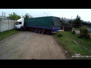Мастерство вождения дальнобойщиков