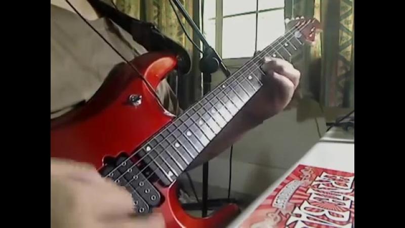 Супер! Самое красивое соло (для меня) на электрогитаре! (автор Dhalif Ali)