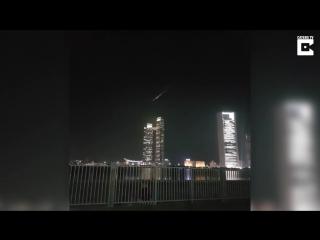 В небе над ОАЭ сгорел неопознанный летающий объект