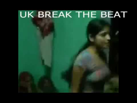 Desi Girl Dance Practices at Home