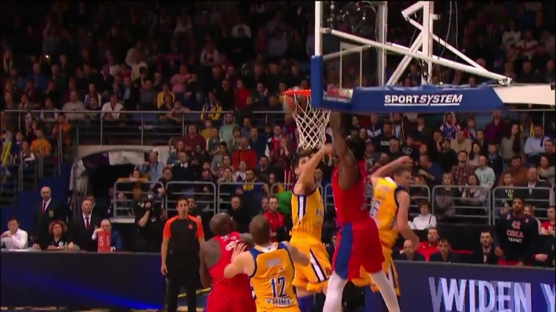 Dunk of the night | Victor Rudd, CSKA Moscow